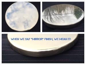 Brass urn lid Mirror Finish